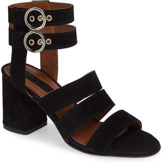 Topshop Nina Multi Strap Block Heel Sandal