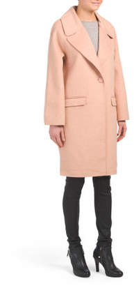 Madi Double Face Wool Blend Coat