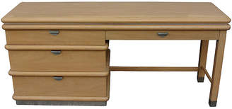 One Kings Lane Vintage Jay Spectre 4-Drawer Desk - Vintage Bella Home