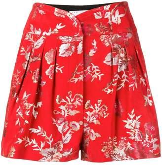 IRO Ceremoni embroidered shorts