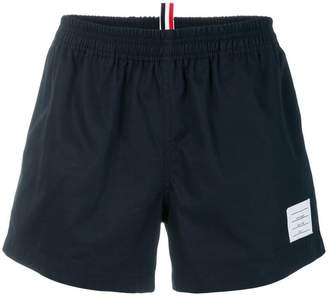Thom Browne Cotton Twill Rugby Shorts