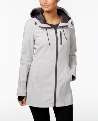 Nautica Hooded Softshell Raincoat $150 thestylecure.com