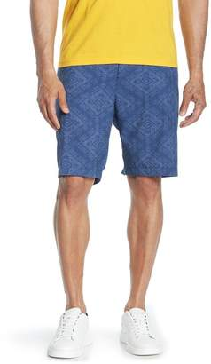 829fc352fd Tommy Bahama Cayman Geo De Maya Hybrid Board Shorts (Big & Tall)