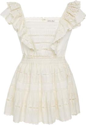 LoveShackFancy Dora Mini Ruffle Dress