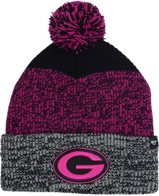 '47 Brand Green Bay Packers Static Cuff Pom Knit Hat $27.99 thestylecure.com