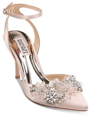 Badgley Mischka Women's Alice Crystal-Embellished Pumps
