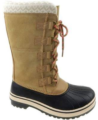 Ozark Trail Women's Tall Lace Up Temp Lined Winter Boot