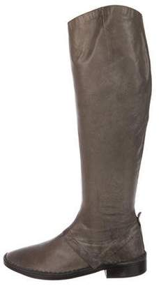 Eileen Shields Leather Knee-High Boots