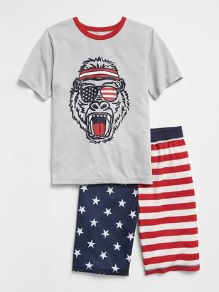 Gap Stars & Stripes Short PJ Set