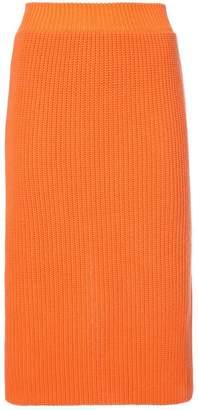 Calvin Klein (カルバン クライン) - Calvin Klein 205W39nyc ribbed skirt
