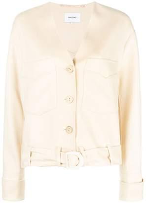 Iman Nanushka button jacket