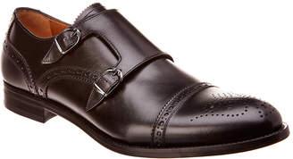 Antonio Maurizi Leather Double Monk