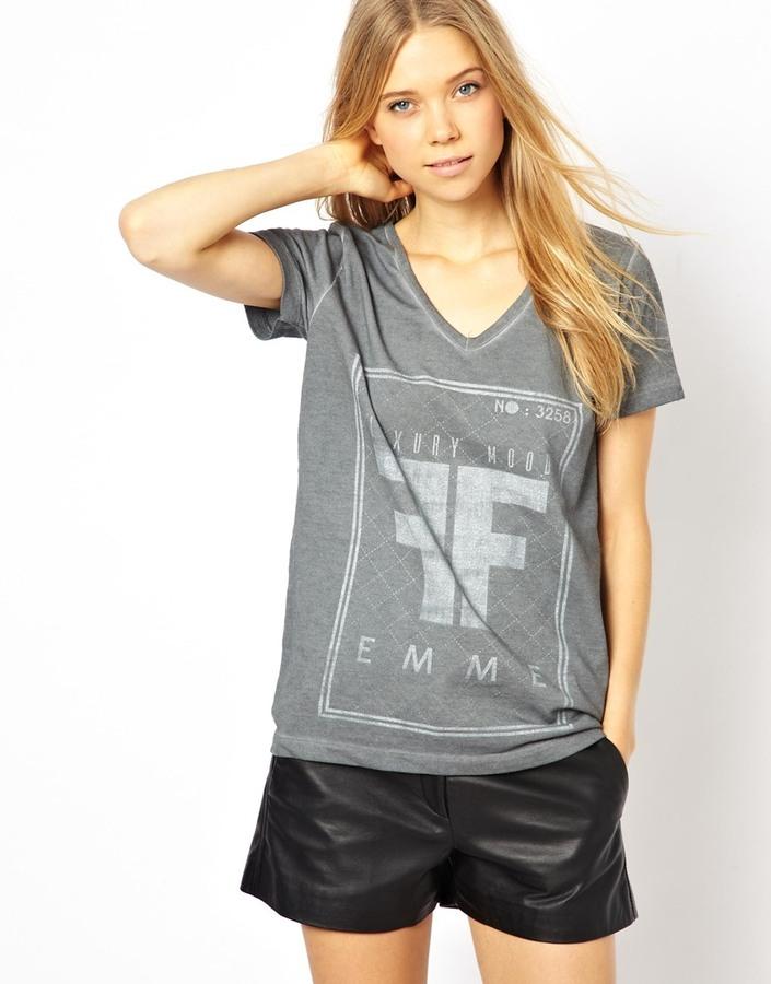 Selected Mood Short Sleeved Printed T-Shirt