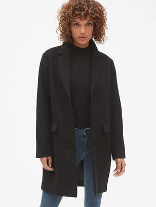 Gap Oversized Wool-Blend Cocoon Coat