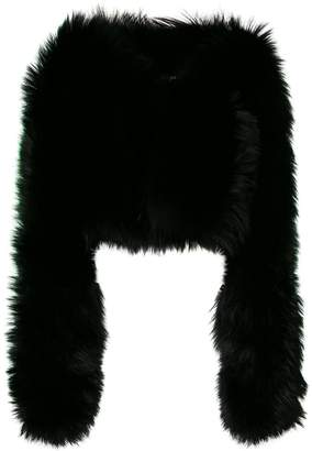 DSQUARED2 fox fur jacket