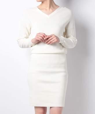 And Couture (アンド クチュール) - 【60%OFF】アンドクチュールC/Ac2WAYニットタイトワンピースレディースオフホワイトM【And Couture】【セール開催中】