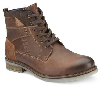 Reserved Footwear Mixed Media Boot