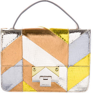 Jimmy Choo Jimmy Choo Rebel Colorblock Satchel