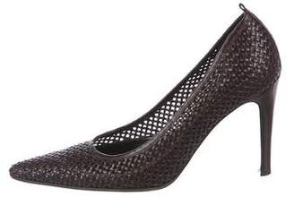 Bottega Veneta Woven Leather Pumps