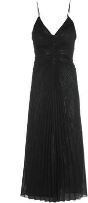 Marco De Vincenzo Sheer Pleated Dress