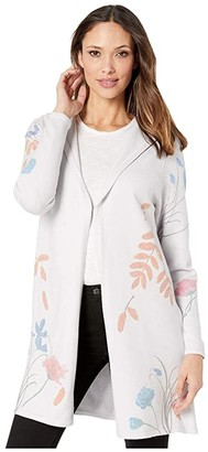 FDJ French Dressing Jeans Floral Print Long Sleeve Hoodie