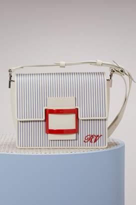 Roger Vivier Viv' Shirting mini bag