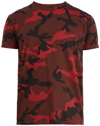 Valentino Camouflage-print T-shirt