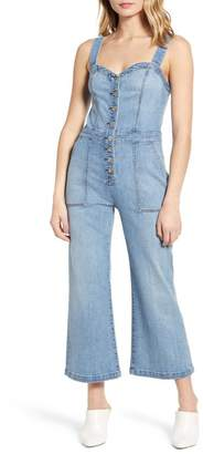 7 For All Mankind Corset Tank Jumpsuit (Whitney Runway Denim)