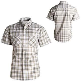 Carhartt Men's Short Sleeve Lightweight Plaid Shirt