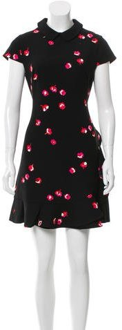 Kate Spade Kate Spade New York Ruffle-Accented Floral Dress
