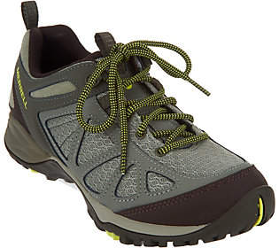 Merrell Leather & Mesh Lace-up Hiking Sneaker -Siren Sport Q2
