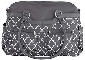 JJ Cole Stone Arbor Satchel Diaper Bag