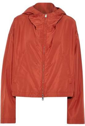 Jil Sander Silk-Shell Hooded Jacket