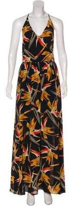 Fendi Silk Maxi Dress