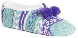 Muk Luks Women's Knit Ballet Slippers
