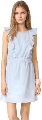 Madewell Bellflower Ruffle Dress $118 thestylecure.com