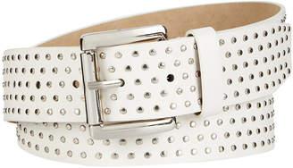 Steve Madden Flat-Studded Belt