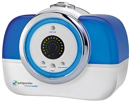 Germ Guardian Pureguardian 120-Hour Ultrasonic Digital Humidifier