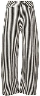 Marques Almeida Marques'almeida striped wide-leg trousers