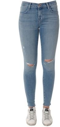 J Brand Skinny Denim Ripped Jeans