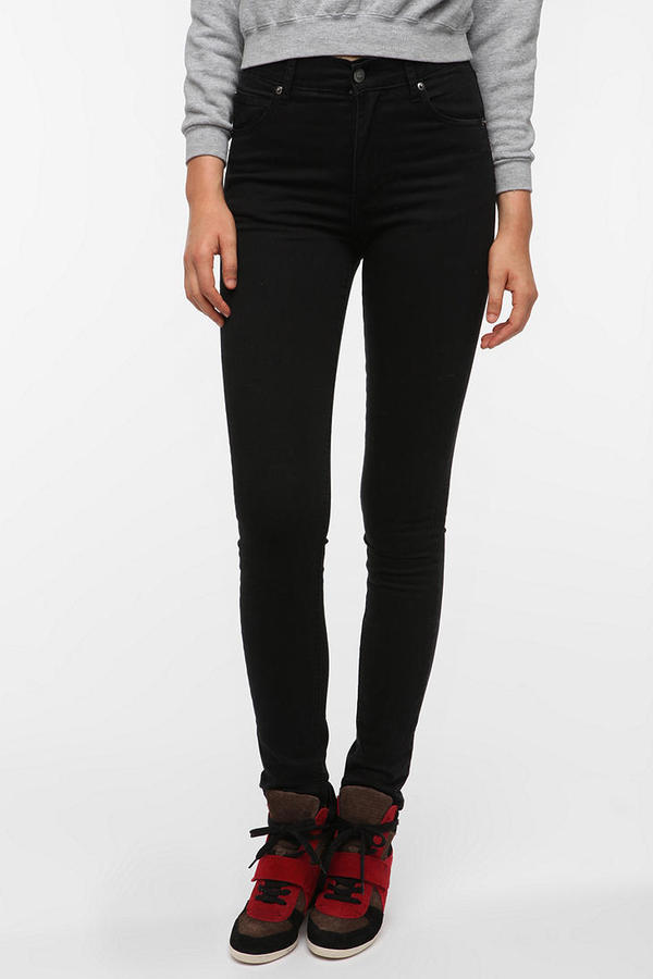 Cheap Monday Second Skin Jean - Black