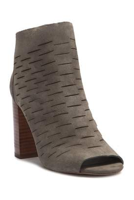 1 STATE 1.State Shiya Suede Peep-Toe Bootie