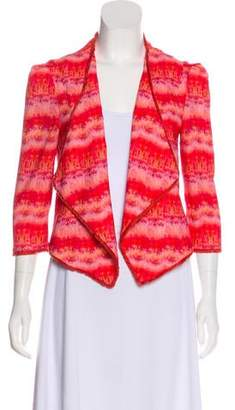 Mcginn Cropped Print Jacket