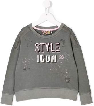 Vingino Style Icon slogan sweatshirt