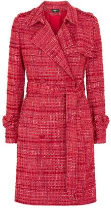 Paule Ka Tweed Trench Coat