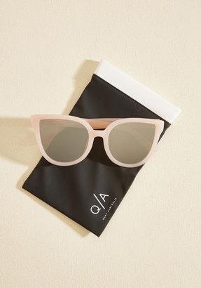 Quay Paradiso Sunglasses in Petal $39.99 thestylecure.com