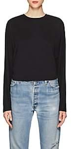 Robert Rodriguez Women's Tie-Back Cotton T-Shirt-Black