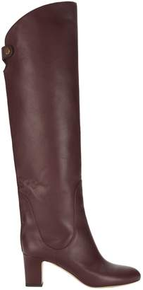 Jimmy Choo Minerva Vino Over-The-Knee Boots