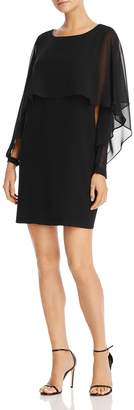 Nanette Lepore nanette Chiffon-Overlay Dress