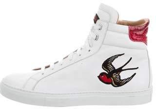 Belstaff Mariner Hampton High-Top Sneakers w/ Tags